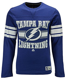 Majestic Men's Tampa Bay Lightning Forecheck Long Sleeve T-Shirt