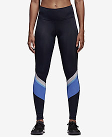 adidas Wanderlust Colorblocked High-Waist Training Leggings