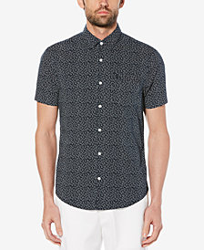 Original Penguin Men's Stretch Poplin Slim-Fit Shirt