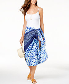 Dotti Tropic Tie-Dyed Pareo Cover-Up