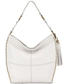 Silverlake Leather Hobo, Created for Macy's