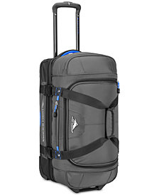 "High Sierra Decatur 22"" Drop-Bottom Wheeled Duffel"