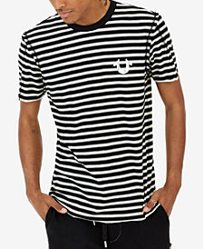 True Religion Men's Striped T-Shirt