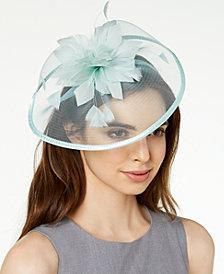August Hats Jade Fascinator
