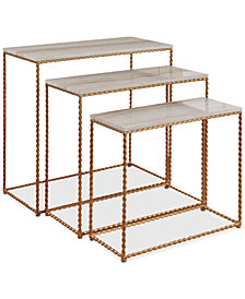 Niera Console Table (Set Of 3), Quick Ship