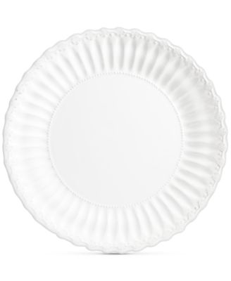Madeira White Charger Plate