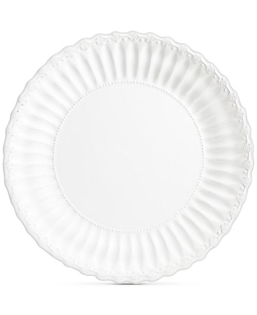 Gibson Laurie Gates Madeira White Charger Plate