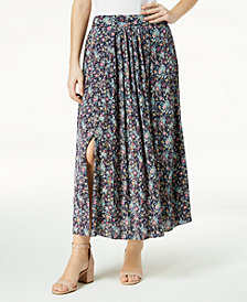 Maison Jules Tie-Back Maxi Skirt, Created for Macy's