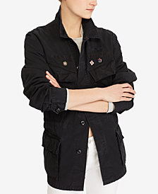 Polo Ralph Lauren Patchwork Military Jacket