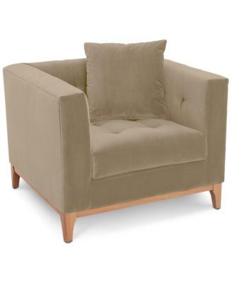 "Martha Stewart Collection Brookline 38"" Armchair, Created for Macy's"