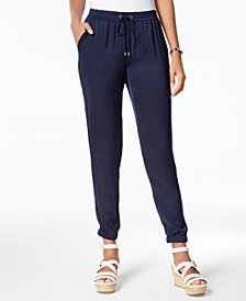 MICHAEL Michael Kors Jogger Pants in Regular & Petite