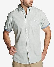 Weatherproof Vintage Men's Printed Poplin Pocket Shirt