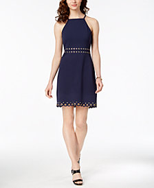 MICHAEL Michael Kors Grommeted Shift Dress, Regular & Petite