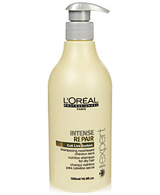 L'OREAL Professional Série Expert Intense Repair Nutrition Shampoo, 16.9-oz., from PUREBEAUTY Salon & Spa
