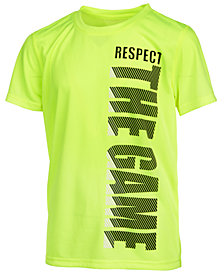 Ideology Respect-Print T-Shirt, Big Boys, Created for Macy's