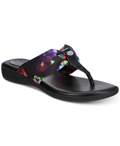 Charter Club Benjii Flip Flop Sandals, Created for Macy's