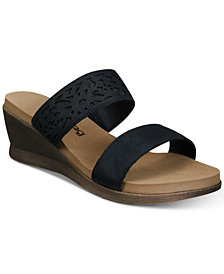 BEARPAW Women's Noelle Wedge Sandals