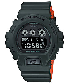 G-Shock Men's Digital Green Resin Strap Watch 50mm