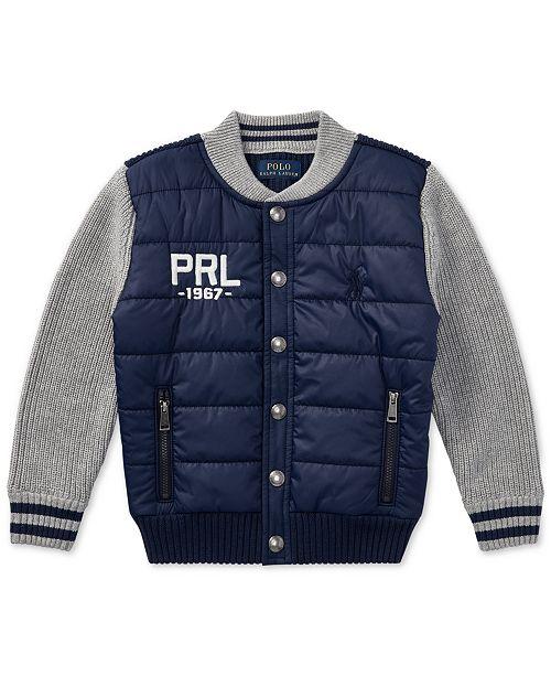 7012c116df Polo Ralph Lauren Ralph Lauren Quilted Jacket, Toddler Boys ...