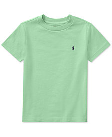 Polo Ralph Lauren Cotton T-Shirt, Little Boys