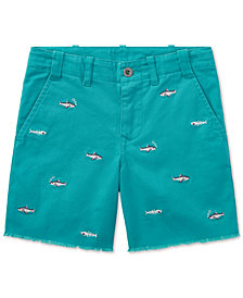 Polo Ralph Lauren Embroidered Chino Shorts, Toddler Boys