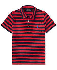 Ralph Lauren Striped Cotton Polo, Toddler Boys