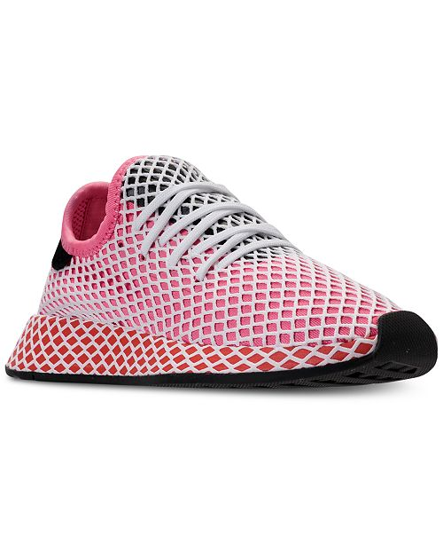 745a68564 adidas Women s Deerupt Runner Casual Sneakers from Finish Line ...