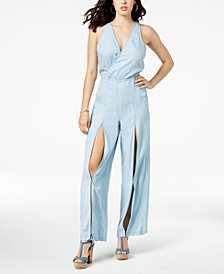 GUESS Sleeveless Cutout Jumpsuit
