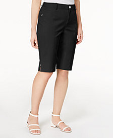 I.N.C. Curvy-Fit Bermuda Walker Shorts, Created for Macy's