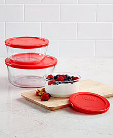 Pyrex 6-Pc. Round Storage Set