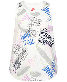Nike Fresh Prints Tank Top, Little Girls