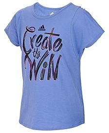 adidas Win-Print T-Shirt, Toddler Girls