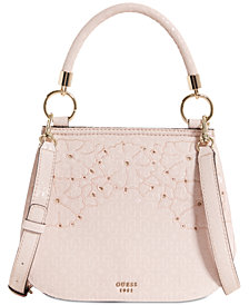 GUESS Jayne Top Handle Shoulder Bag