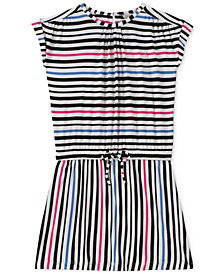 Calvin Klein Striped Dress, Big Girls