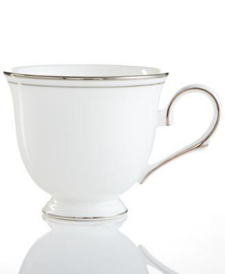 Federal Platinum Teacup