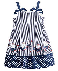 Hello Kitty Seersucker Dress, Little Girls