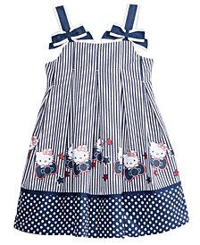 Hello Kitty Seersucker Dress, Little Girls