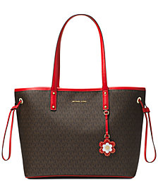 MICHAEL Michael Kors Carter Signature Large Tote