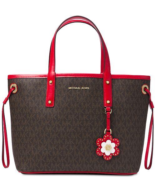 092c505d49d1 Michael Kors Carter Signature Small Tote   Reviews - Handbags ...