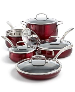 Belgique Aluminum 11-Pc. Cookware Set, Created for Macy's 5809877