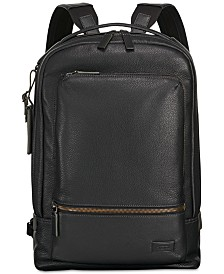Tumi Men's Harrison Bates Leather Backpack