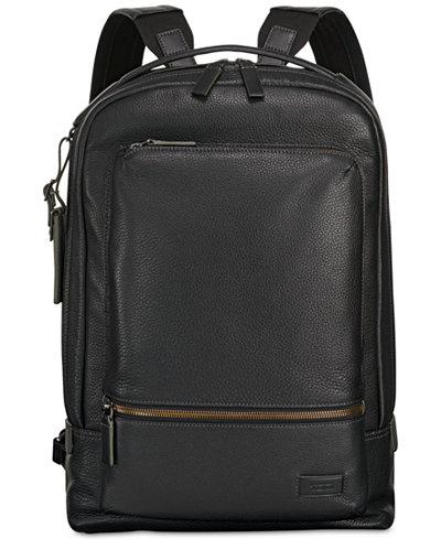 Tumi Men's Harrison Bates Leather Backpack