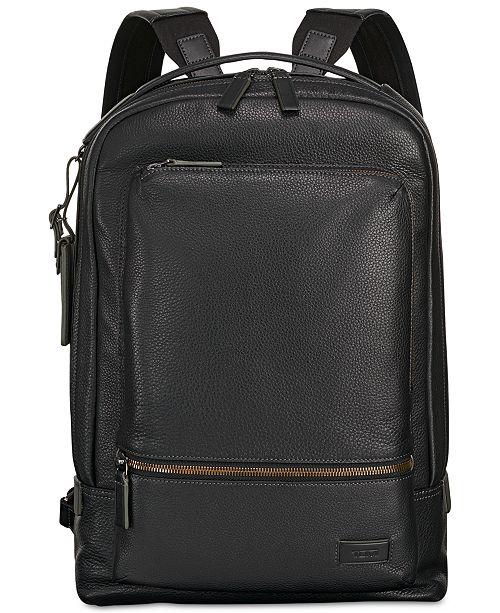 Men's Harrison Bates Leather Backpack