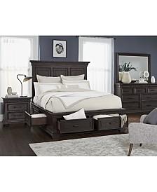 Hansen Storage Bedroom Furniture, 3-Pc. Set (Queen Bed, Nightstand, and Dresser), Created for Macy's