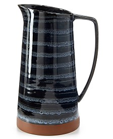Lucky Brand Blue Wash Pitcher, Created for Macy's