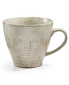 Lucky Brand Rustic Weave Mug, Created for Macy's