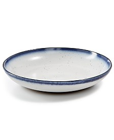 Lucky Brand Dip-Dye Dinner Bowl, Created for Macy's