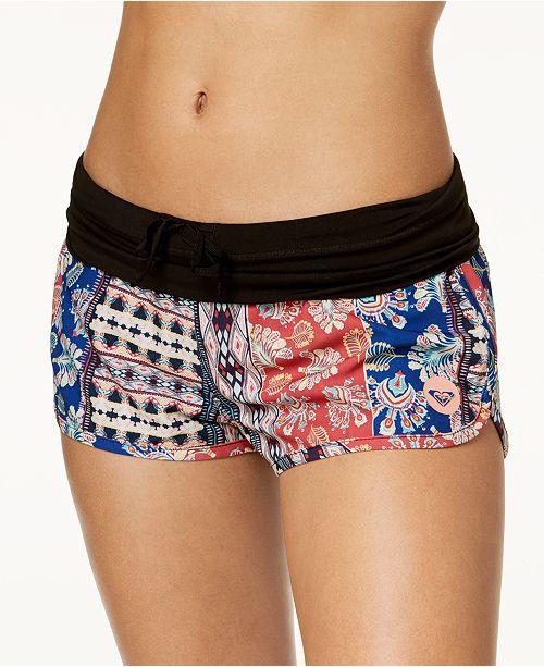 ce5b87d2e48 Roxy Endless Summer Printed Swim Boyshort   Reviews - Swimwear ...