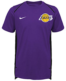 Nike Los Angeles Lakers Hyper Elite Shooter T-Shirt, Big Boys (8-20)