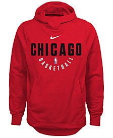 Nike Chicago Bulls Elite Practice Hoodie, Big Boys (8-20)